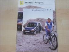 53657) Renault Kangoo 4+2 Prospekt 03/2000