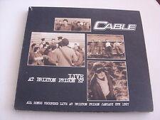 Cable:  Live at Brixton Prison   CD Single  NM