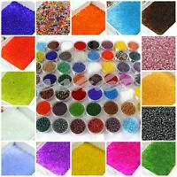 2000x 2mm Czech Glass Seed Spacer beads Jewelry Making DIY 22 Colors Free P&P