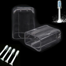 2pcs Electric Toothbrush Head Protective Cover Case Tooth Brush Heads Dust'Clear