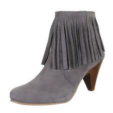 Markenlose Damenstiefel & -Stiefeletten mit Pump-Absatzart aus Echtleder für Hoher Absatz (5-8 cm)