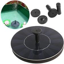200L/h Flotante Energia Solar Bomba de Agua para Pecera Fuente Acuario Jardín