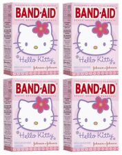 4 Pack - BAND-AID Bandages Hello Kitty Assorted Sizes 20 Each