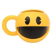 PAC-MAN 20 oz. Sculpted Ceramic Mug Mrs. Pacman Video Game Arcade Gift