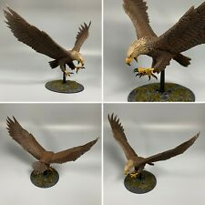GAMES WORKSHOP LORD OF THE RINGS THE HOBBIT GREAT EAGLE WOOD ELF PAINTED