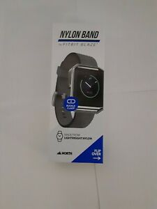 Nylon Band for Fitbit Blaze with Adjustable Buckle Clasp
