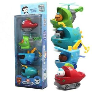 4pcs/set Octonauts Octopod Barnacles Gup Peso Price Kwazii Fisher For Kids Toys