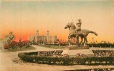 Florida, FL, Miami Beach, Nautillus Hotel 1910's Postcard Hand-Colored