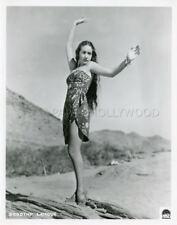 DOROTHY LAMOUR VINTAGE PHOTO ORIGINAL 1940's   #4 PARAMOUNT
