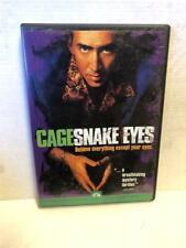 Snake Eyes (Dvd, 1999, Sensormatic), Nicolas Cage
