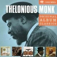 "THELONIOUS MONK ""ORIGINAL ALBUM CLASSICS"" 5 CD BOX NEW+"