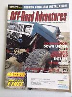 Off Road Adventures Magazine XPedition Down Under Pt 2 October 2006 032217NONRH