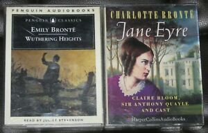 The Bronte Collection - 4 Audio Cassettes - Like N - 2 Books - 6 Hours
