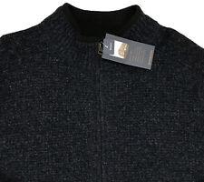 Men's PENDLETON Heather Blue Washable Wool Full Zip Sweater XXL NWT NEW $129 WoW