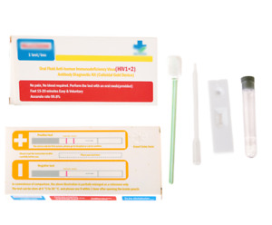 Oral HIV Saliva Self Test Kit at Home, Accurate and Fast Result
