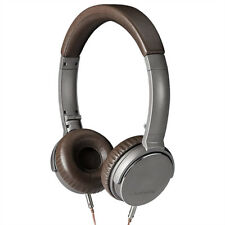 Lasmex C40 High performance Stereo Kopfhörer Headphones On-EAR C40 Braun NEU