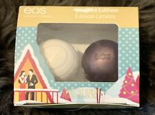 Eos 2-Piece Holiday Limited Edition Lip Balm Organic Sugarplum Visibly Soft Gift