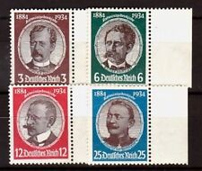 GERMANY Sc 432-5 NH ISSUE OF 1934 - LOST COLONIES