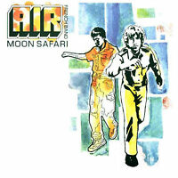 AIR 'MOON SAFARI' NEW  /  SEALED - REISSUE  ON 180G VINYL  / LP