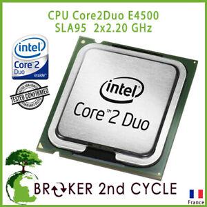 CPU Core2Duo E4500  SLA95  2x2.20 GHz, 800 MHz FSB, 2 MB, Sockel 775 TESTED