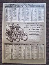 Victoria Motorrad Motorfahrrad Fahrrad 1937 Wandkalender Din A 4 groß
