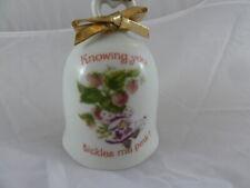 Strawberry Shortcake Designers Collection Porcelain Bell 1980 Vintage Japan