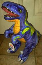 Plush Stuffed Dinosaur Blue T-rex Dino