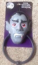 SINISTER VAMPIRE HALLOWEEN DOOR KNOCKER * NEW! * SCARY CREEPY DOOR KNOCKER! (1)