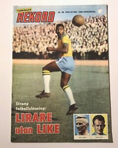 1960 REKORD JOURNAL #30 - BRAZIL TEAM AND PELE!    🔥🔥🔥