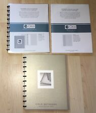 Levenger Circa Translucent Letter Size Notebooks Refill Pages Annotation Grid