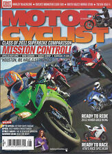Motor Cyclist Magazine Honda Gold Wing Ktm Harley Backline Ducati Monster 2011