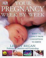 Your pregnancy week by week Hardback book