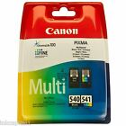 Canon PG-540 & CL-541 Multi Pack Original Black & Col Ink Cartridges PG540,CL541