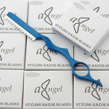 Pro Hairdressing Hair Feathering Razor+100 blades / Hair Cutting Thinning #RB100