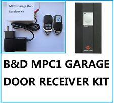 B&D MPC1 Garage Door TX27 27.145MHz 27MHz Upgrade Receiver Kit Rolling Code