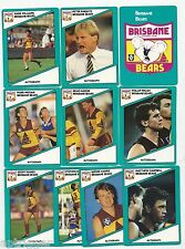 1988 Scanlens BRISBANE Team Set