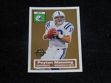 PEYTON MANNING   (INDIANAPOLIS COLTS-QB)  2005 TOPPS INSERT card #5/22  nr/mint