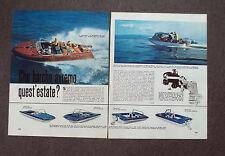 AC01 - Clipping-Ritaglio - 1964 - NAUTICA NOTIZIE - AQUARAMA , BOSTON WHALER