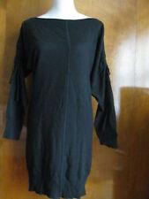 Chelsea & Theodore Women's Black Cashmere Silk Dress Size Small NWT
