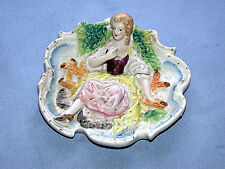 Hand Painted Royal Japanese Victorian Girl Wall Plaque