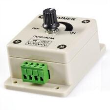 Dimmer 12v CC DC 8A Regulador Intensidad Led