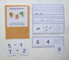 Teacher Made Math Center Resource Game Building Numbers Place Value Skills