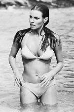 RAQUEL WELCH BIKINI IN SEA FATHOM 36X24 POSTER PRINT