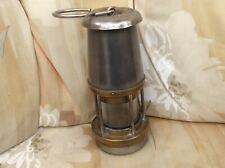 Miners Lamp The Wolf Safety Lamp Co Wm Maurice Sheffield