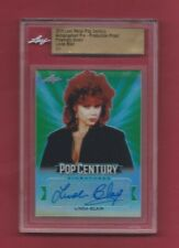 Linda Blair 2019 Leaf Metal Pop Century Green Proof Auto 1/1