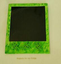 MAGNETIC INSTANT PHOTO FRAME MAGNET w DRAGONFLIES FEATURE 8.7cm x 11cm - M273