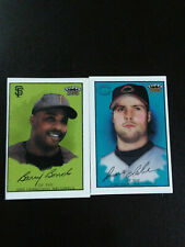 Bonds/LaRue-2003 Polar Bear trifold Baseball-nrmt/7-no.Tf36