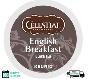 Celestial Seasonings English Breakfast Keurig Tea K-cups YOU PICK THE SIZE