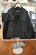 JIL SANDER Black Stunning Jacket NEW UK 12 IT 44