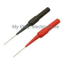 Insulation Piercing Needle Non-destructive Test Probes Red/Black NEW